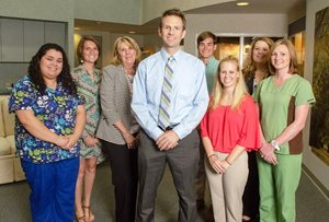 LASIK surgeon Dr. Isaac Porter and his North Raleigh team